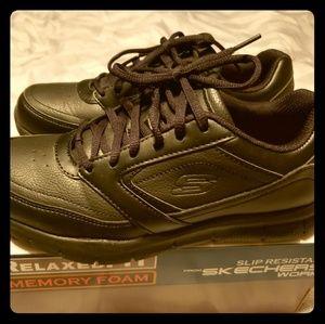 Skechers Nampa-Wyola Slip Resistant Work Shoes